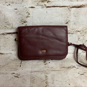 Vintage Buxton Burgundy Wallet Purse